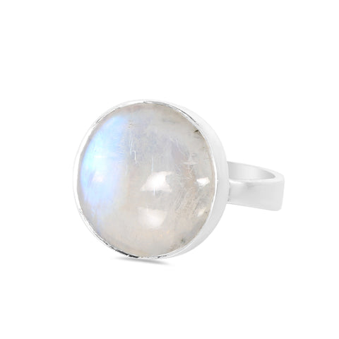 Moonstone Ring-Aurora