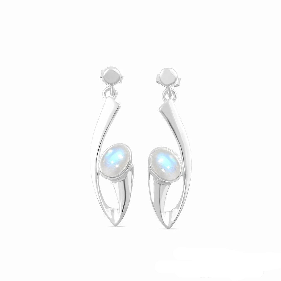 Moonstone Earring-Eternia Sale Item 925 SILVER & MOONSTONE