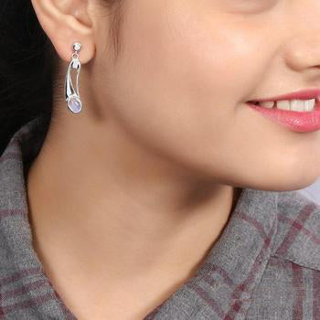 Moonstone Earring-Intense Passion