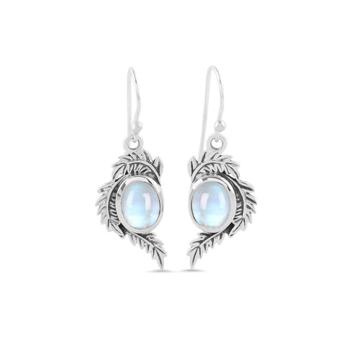 Moonstone Earring-Midnight Forest Sale Item 925 SILVER & MOONSTONE