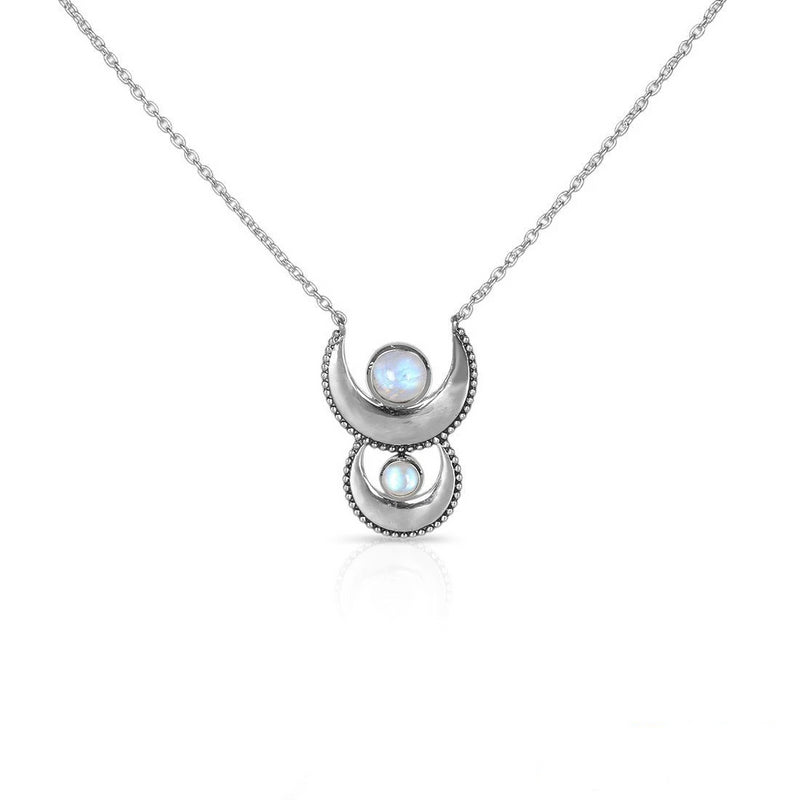 Moonstone Necklace Cycle Of Luna