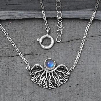 Moonstone Necklace-Ethereal Light