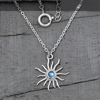 Moonstone Necklace-Marvelous Moonbeams