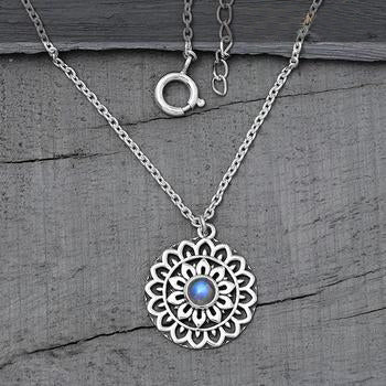 Moonstone Necklace-Moon Trance
