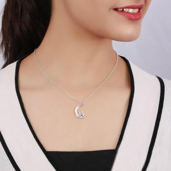 Moonstone Necklace-Serene Night