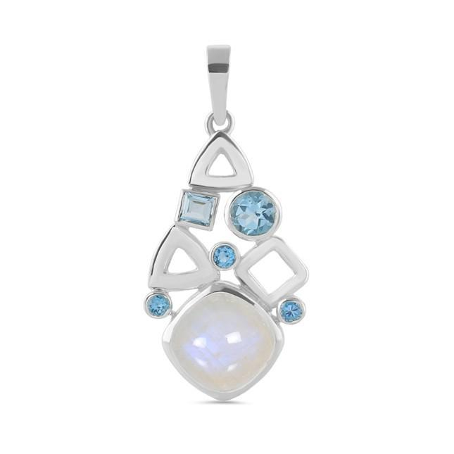 Moonstone Pendant-Peaceful Legion Sale Item 925 SILVER & MOONSTONE