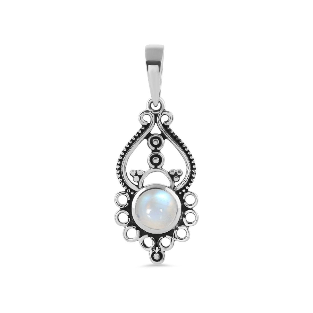 Moonstone Pendant-Silent Passion Sale Item 925 SILVER & MOONSTONE