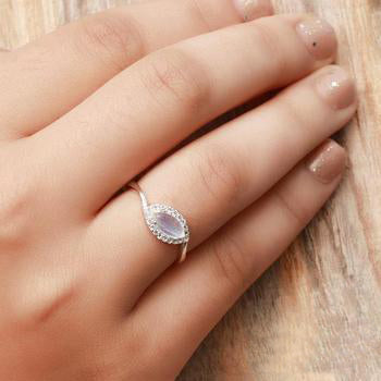 Moonstone Ring - Chatoyant