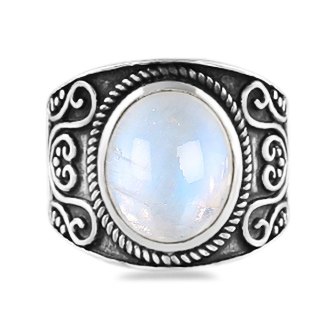 Moonstone Ring-Cheeky Moon Sale Item 925 SILVER & MOONSTONE