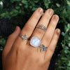 Moonstone Ring-Enchantress