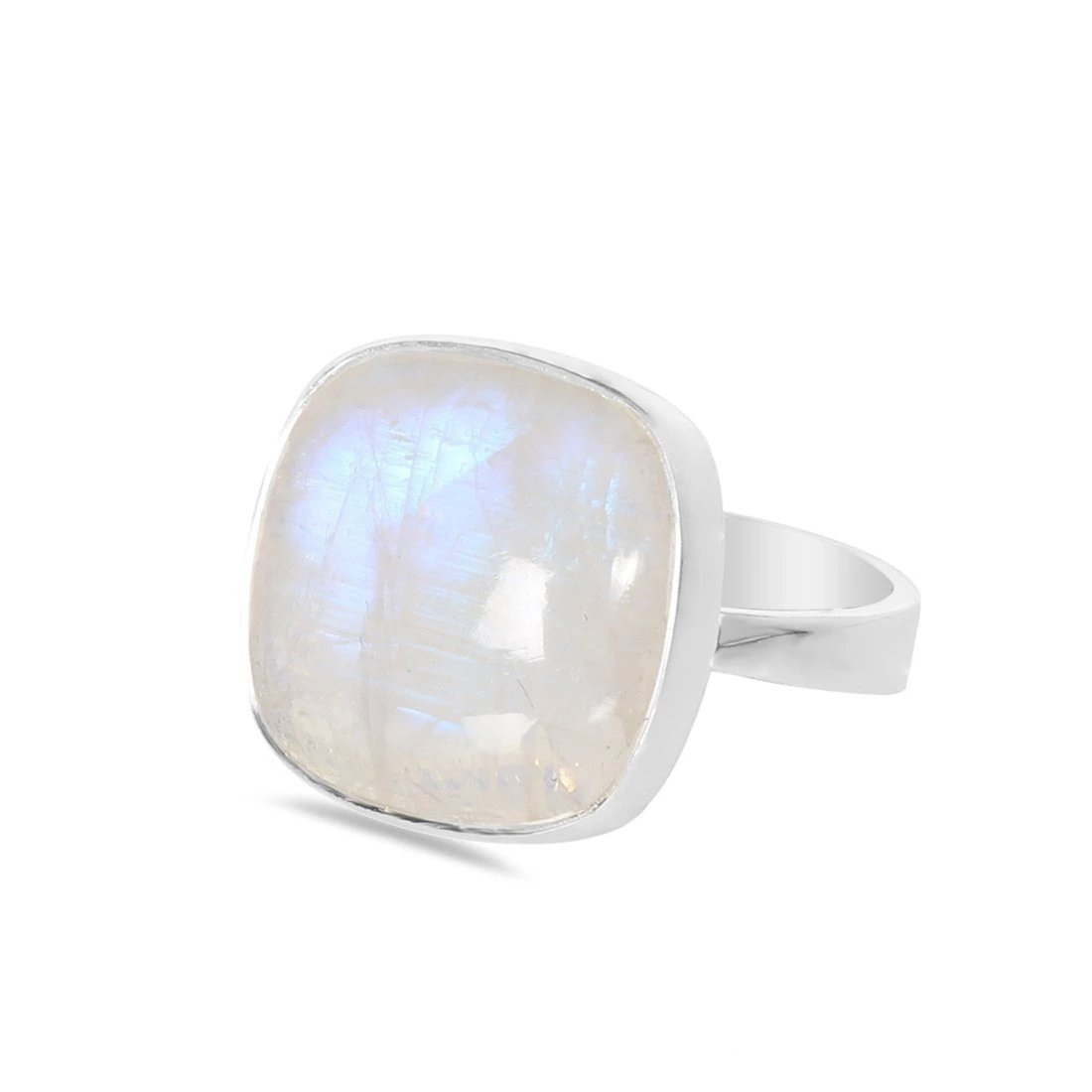 Moonstone Ring-Enchantress Moonstone Ring 925 SILVER & MOONSTONE