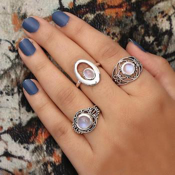 Moonstone Ring-Extended Spectra