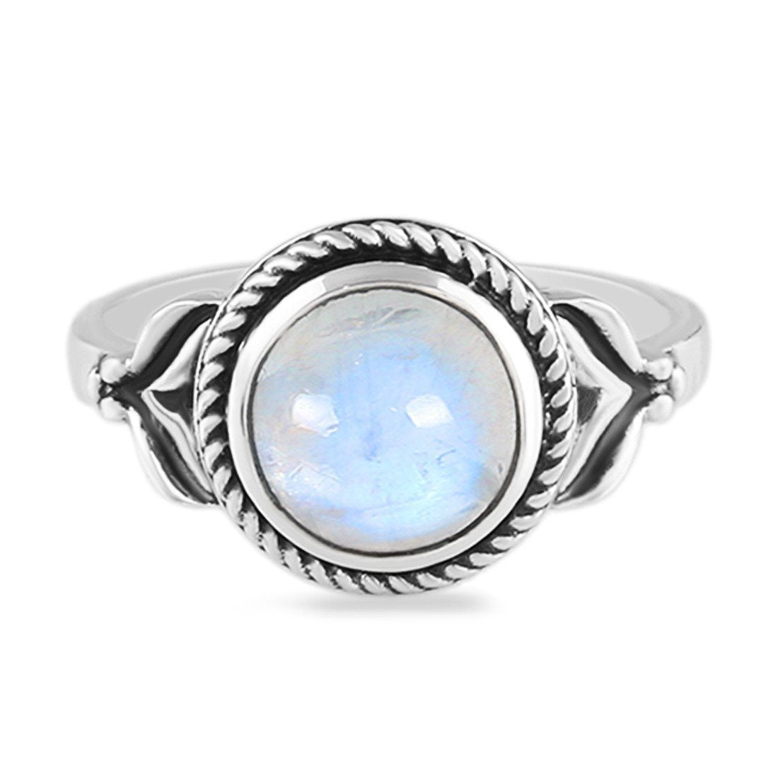 Moonstone Ring-Eye Candy Moonstone Ring 925 SILVER & MOONSTONE