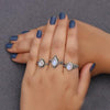 Moonstone Ring-Flawless Chevron