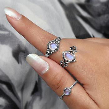 Moonstone Ring-Gracious Moondrop