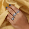 Moonstone Ring-Honest Stars