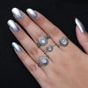Moonstone Ring-Legend Of The Moon