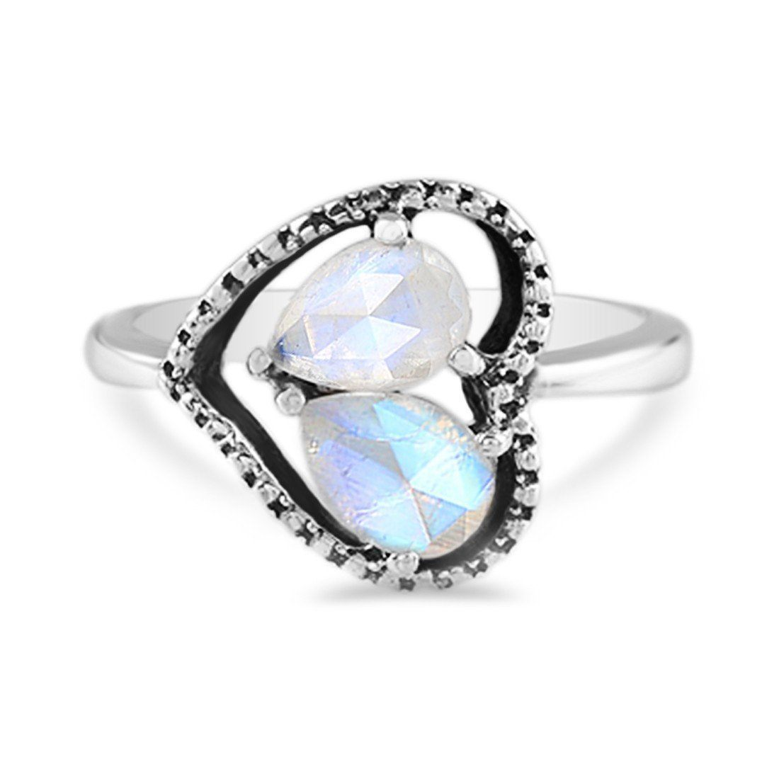 Moonstone Ring-Love and Devotion Sale Item 925 SILVER & MOONSTONE