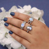 Moonstone Ring-Love and Devotion