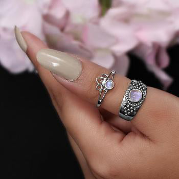 Moonstone Ring-Lunar Awakening