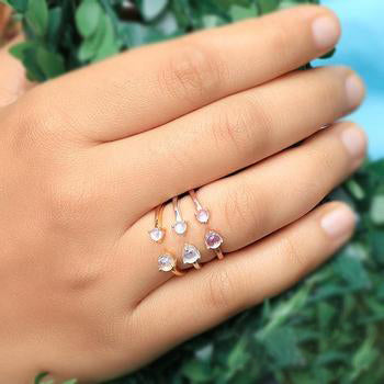Moonstone Ring - Melody
