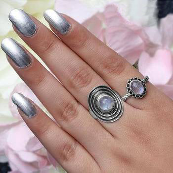 Moonstone Ring-Modest Lure