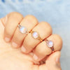 Moonstone Ring - Plushness