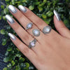 Moonstone Ring-Pure Heartbeat