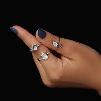 Moonstone Ring-Royal Perfection