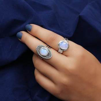 Moonstone Ring-Secret Vault