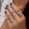 Moonstone Ring-Sky's Energy