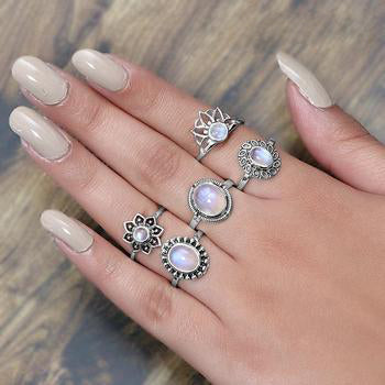 Moonstone Ring-Sneaky Light