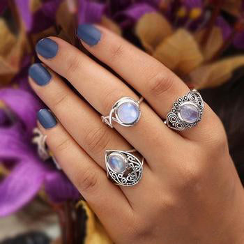 Moonstone Ring- Traditional Tale