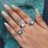 Moonstone Ring- White Virgin