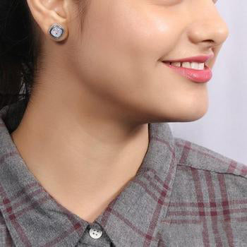 Moonstone Studs-Ravishing Moon
