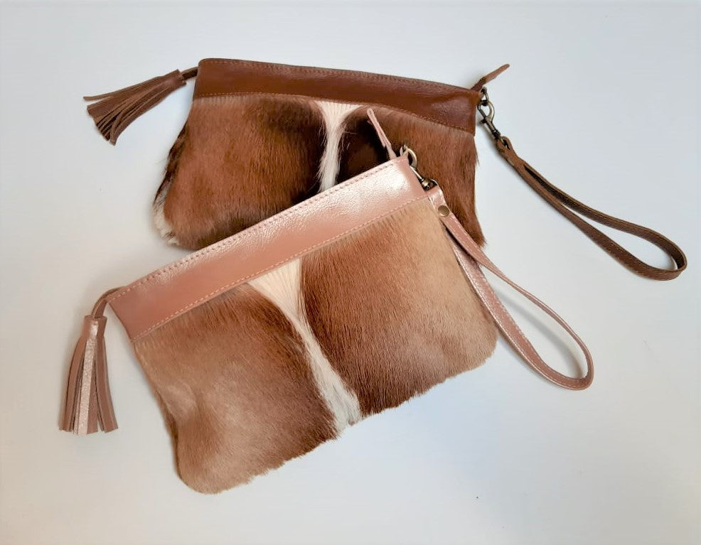 Ella Hide Clutch Bag  [el-uh] - Co-Lab SA