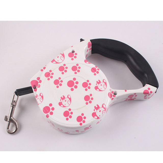 Pet Supplies Dog Collar Leash Automatic Retractable Leash Harness Puppy Patrol Rope Walking Cat Traction small medium dog leash