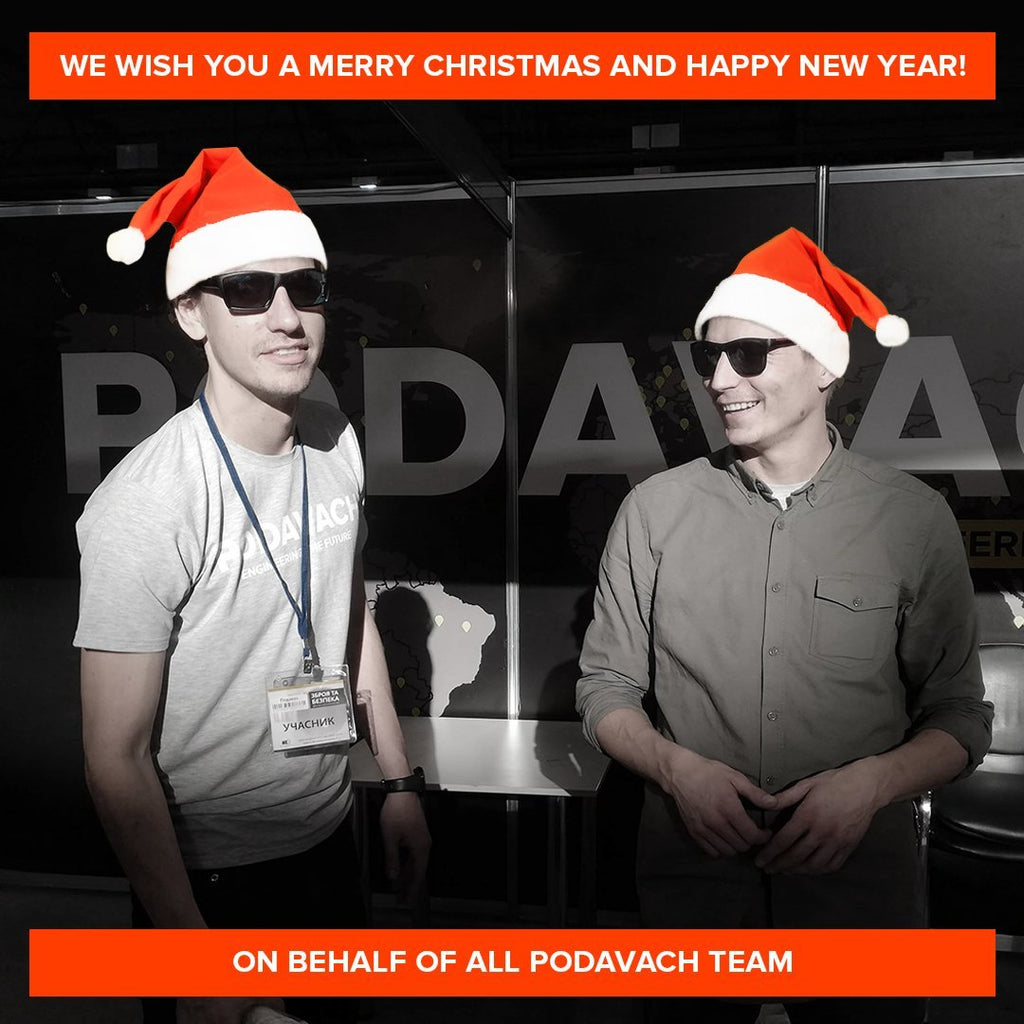 Holiday Greetings from Podavach Founders
