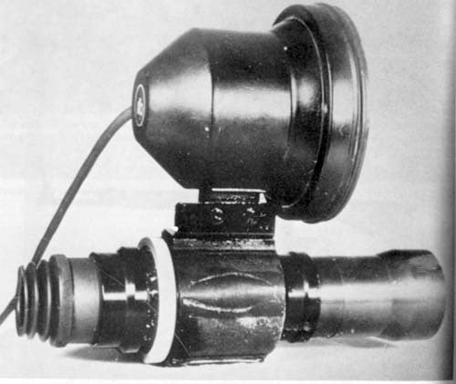 First night-vision sniper scope
