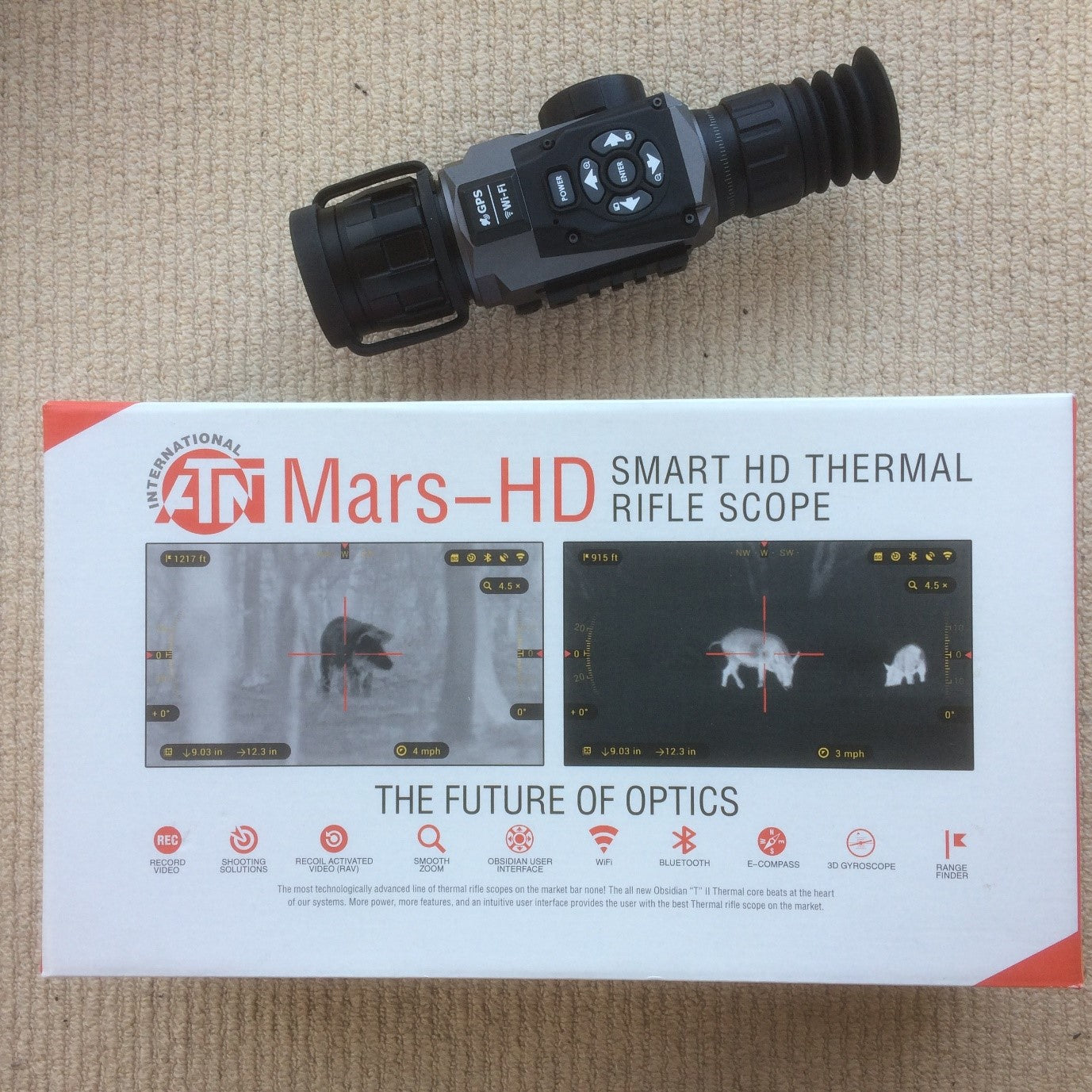 Smart HD thermal rifle scope