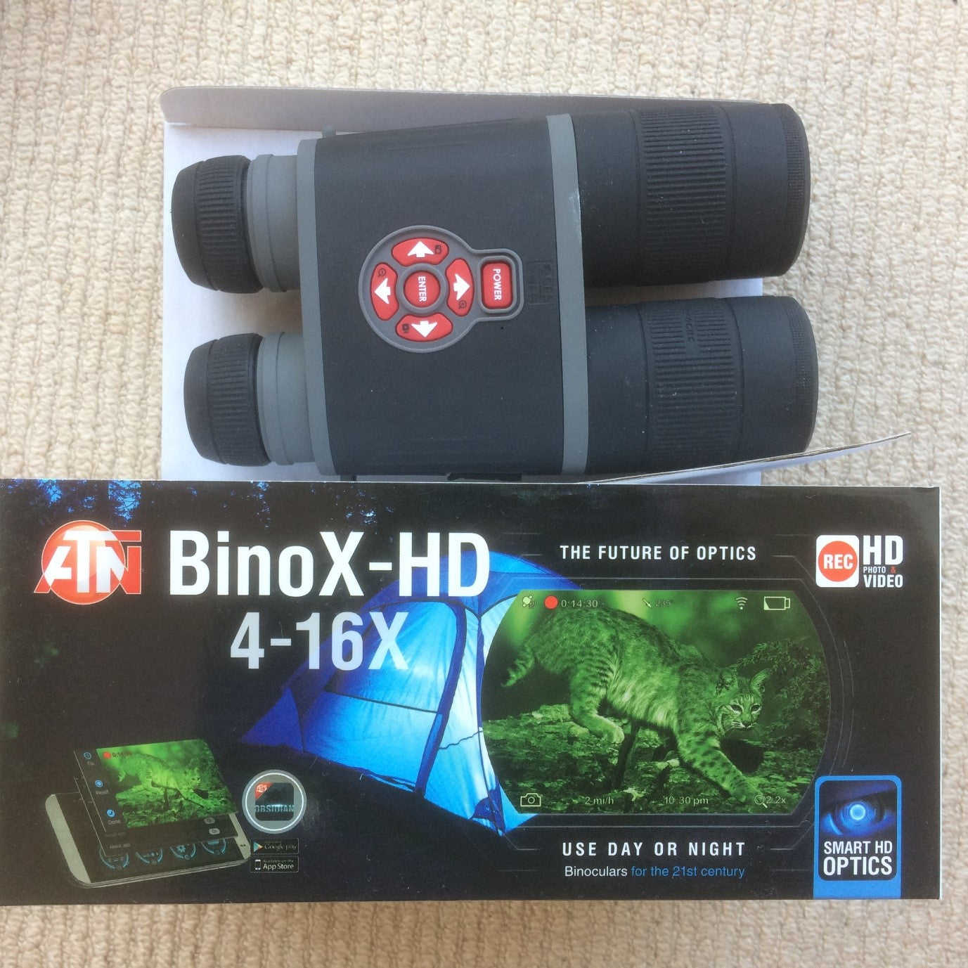 ATN Binoculars for day/night vision scope