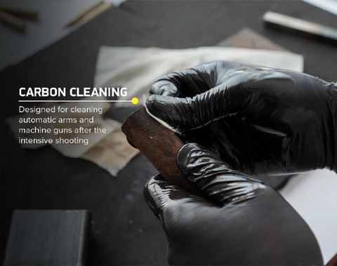 Carbon cleaning wipes
