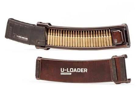U-LOADER AR10 Magazine Speed Loader U-LOADER Podavach | Ukrainian Firearm Accessories Natural Wood