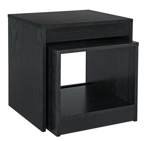 Black Nest of Tables