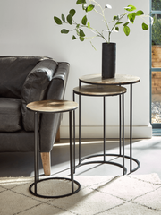Loren Gold Nesting Tables