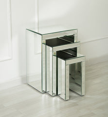 Millano Mirrored Nest of Tables