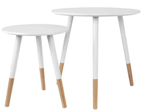 Anette Nest of Tables - White