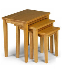 Chloe Oak Nest Of Tables