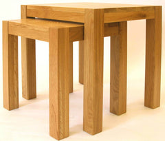 Kritsy Solid Oak Nest of Tables