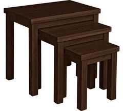 Leicester Nest of Tables - Walnut